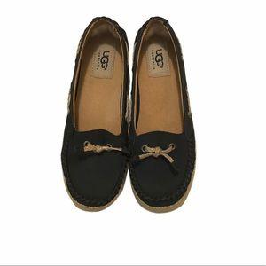 UGG Navy Blue Loafers